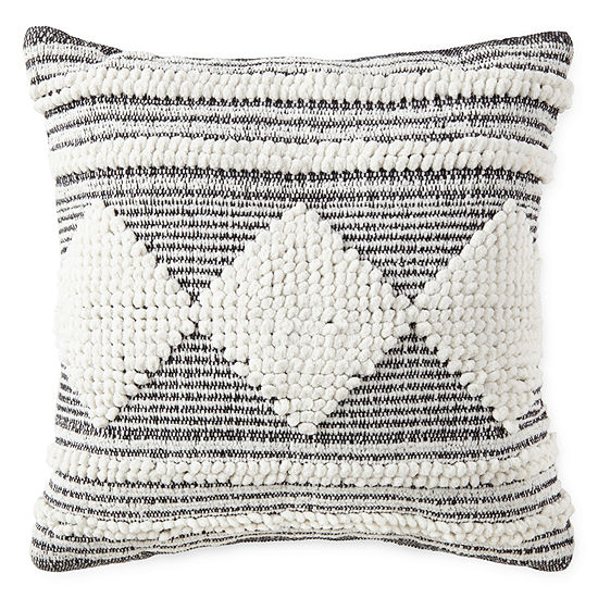 Peyton & Parker Diamond Throw Pillow