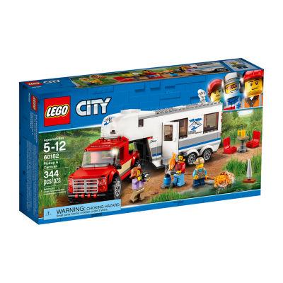 LEGO City Pickup & Caravan - 60182