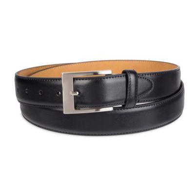 Stafford® Men's Dress Belt with Single Stitch – Big & Tall