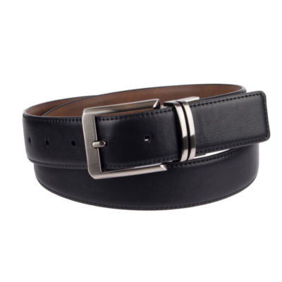 JF J.Ferrar® Men's 35MM Reversible Stretch Belt