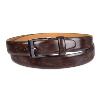 Dockers® Leather Feather-Edge Men's Belt–Big & Tall