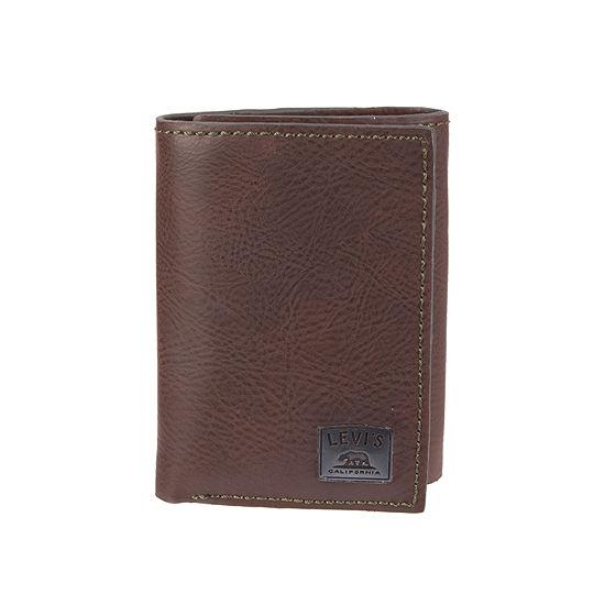 Levi's® Men's RFID Tri Fold Wallet
