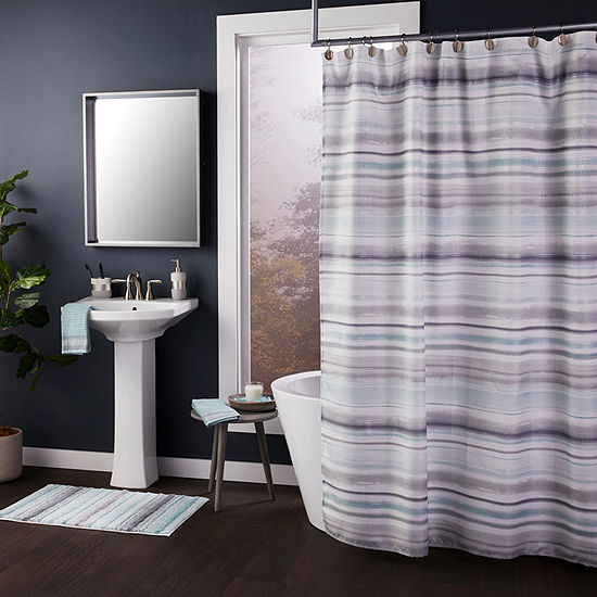 Saturday Knight Water Stripe Bath Collection