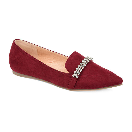 Journee Collection Womens Kyrah Loafers Pointed Toe
