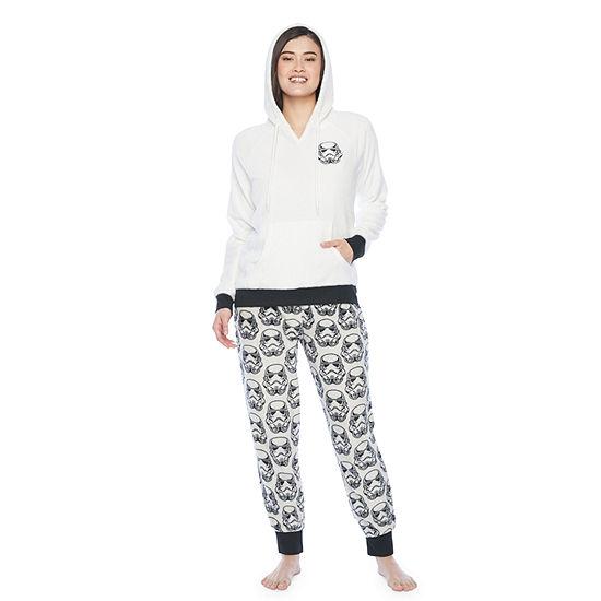Mad Engine Star Wars Storm Trooper Womens Pant Pajama Set 2-pc. Long Sleeve