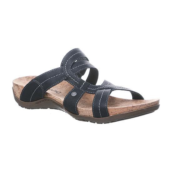 Bearpaw Womens Kai Adjustable Strap Flat Sandals