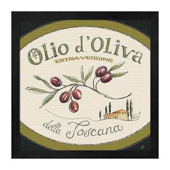 Metaverse Art Tuscan Flavor Vi Framed Food + Drink Print