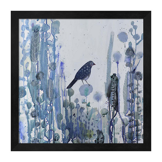 Metaverse Art L'Heure Bleue Framed Animals + Insects Print