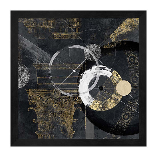 Metaverse Art Canone Framed Abstract Print