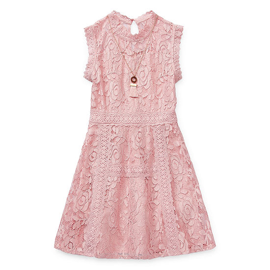 Knit Works Girls Sleeveless Skater Dress - Preschool / Big Kid