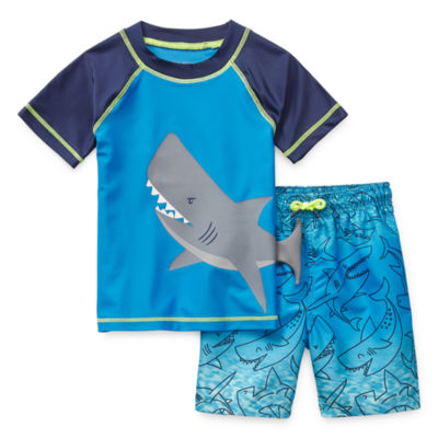 Okie Dokie Toddler Boys Trunk Set