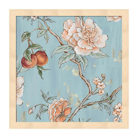 Metaverse Art The Tree Of Life I Framed Floral Print