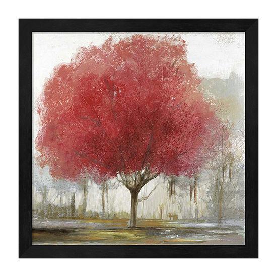 Metaverse Art By The Treeside I Framed Scenic + Landscape Print