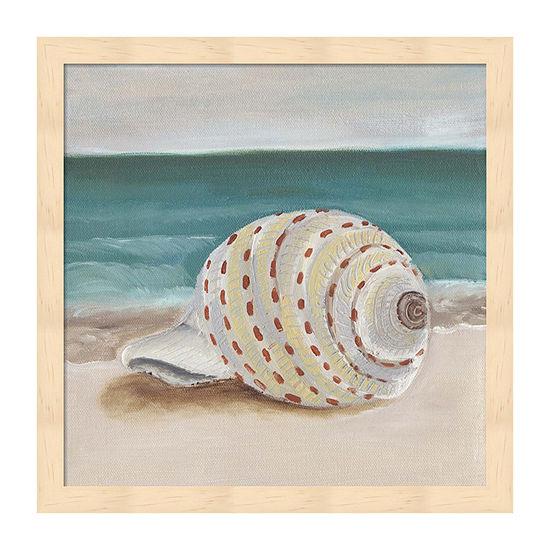 Metaverse Art She Sells Seashells Ii Framed Beach + Nautical Print
