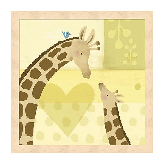 Metaverse Art Mama And Me I Framed Animals + Insects Print