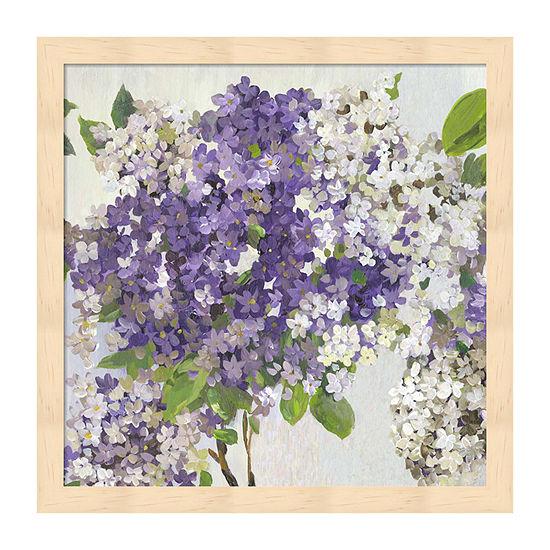 Metaverse Art Summer Hydrangea Ii Framed Floral Print