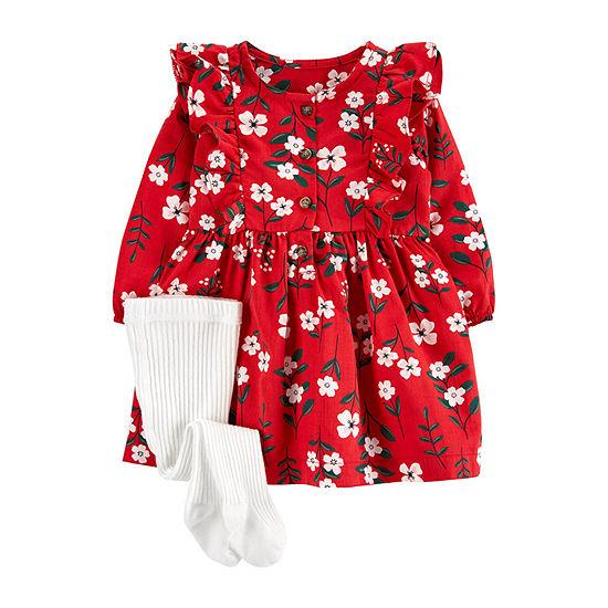 Carter's Baby Girls 2-pc. A-Line Dress