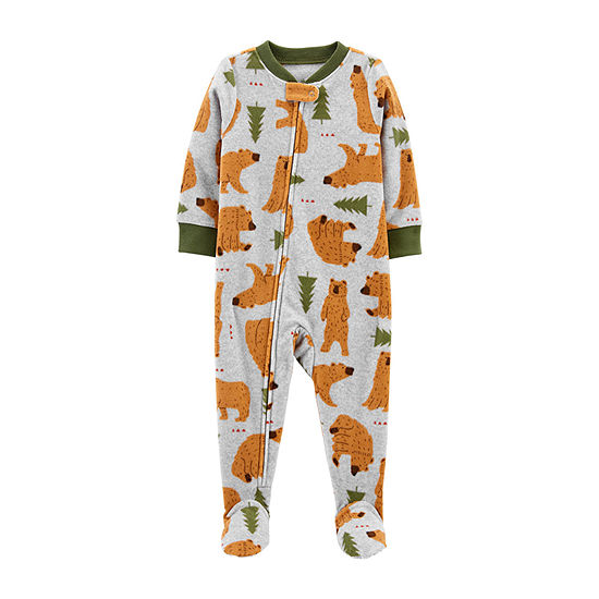 Carter's Baby Boys Long Sleeve One Piece Pajama