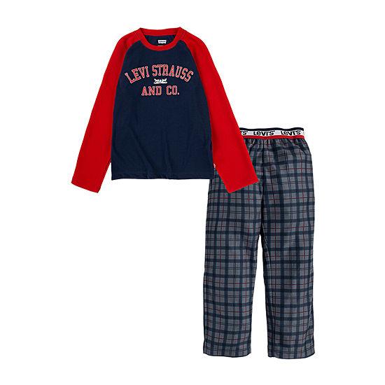 Levi's Little & Big Boys 2-pc. Pant Pajama Set
