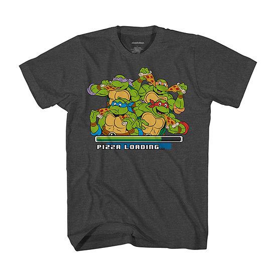 Little & Big Boys Crew Neck Teenage Mutant Ninja Turtles Short Sleeve Graphic T-Shirt