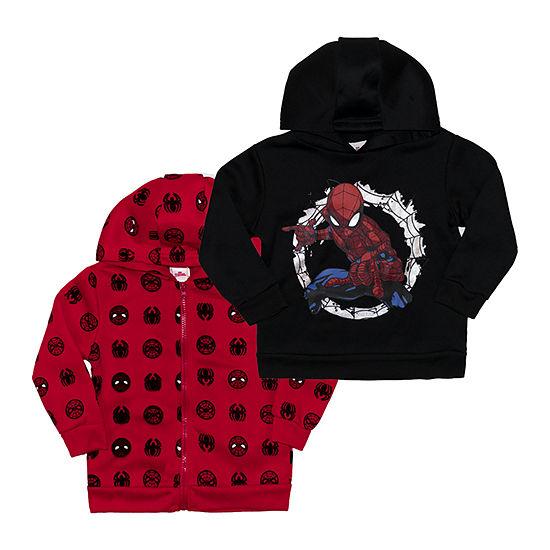 Marvel Toddler Boys Spiderman Hoodie