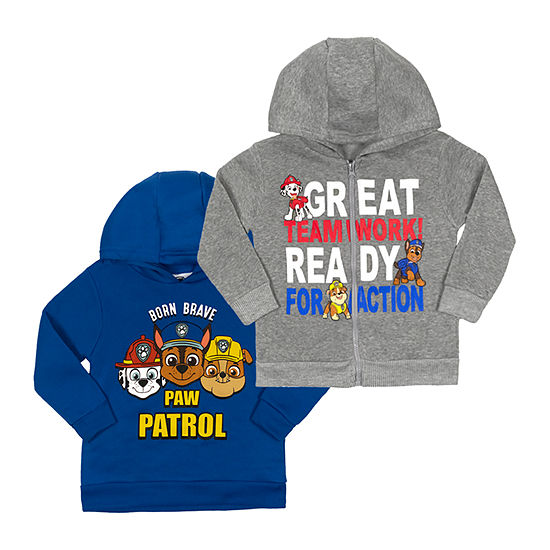 Nickelodeon Toddler Boys 2 pk. Paw Patrol Hoodie