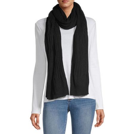 Liz Claiborne Scarf, One Size , Black - 10103810018