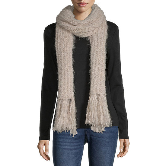 Mixit Cozy Yarn Fringe Cold Weather Scarf