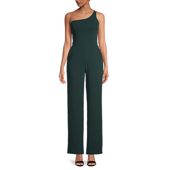 Premier Amour One Shoulder Jumpsuit