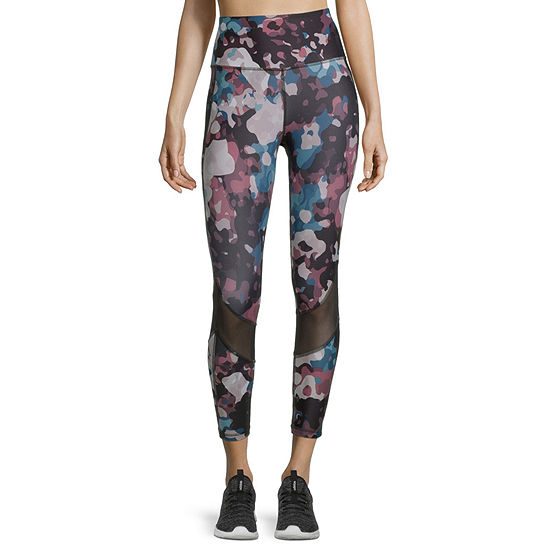 Xersion Train Womens High Rise 7/8 Ankle Leggings, Color ...