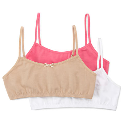 Maidenform 3-pk. Crop Bras - Girls 7-16