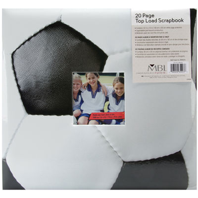 Sport & Hobby Postbound Album - Soccer