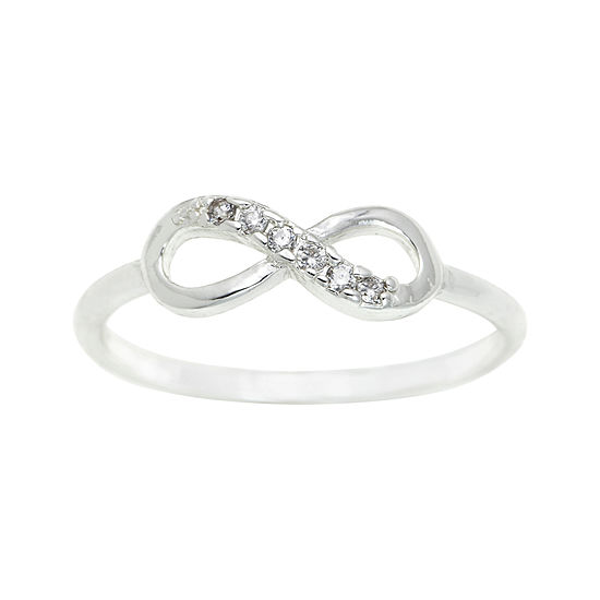 city x city® Clear Infinity Ring