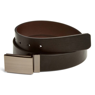 JF J. Ferrar® Reversible Dress Belt with Plaque Buckle