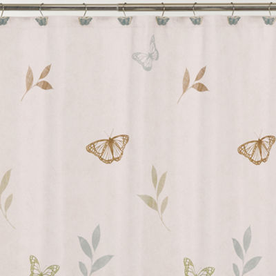 Fluttering Shower Curtain