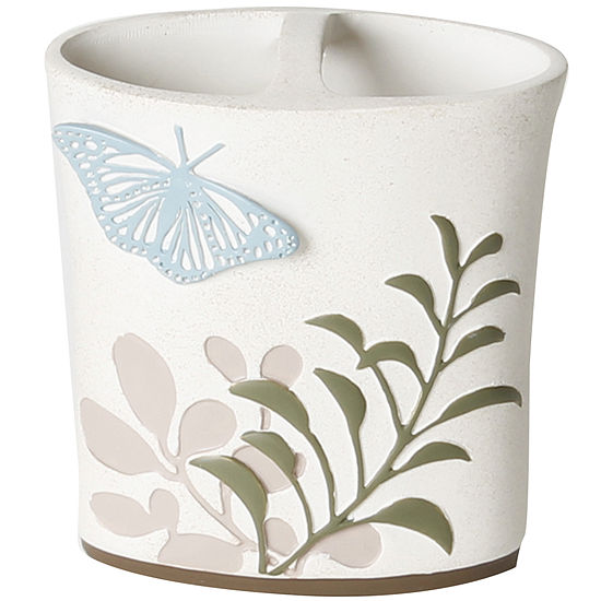 Fluttering Toothbrush Holder