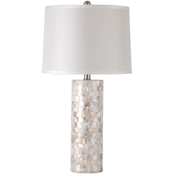 Jcpenney home mother of pearl table lamp aloadofball Images