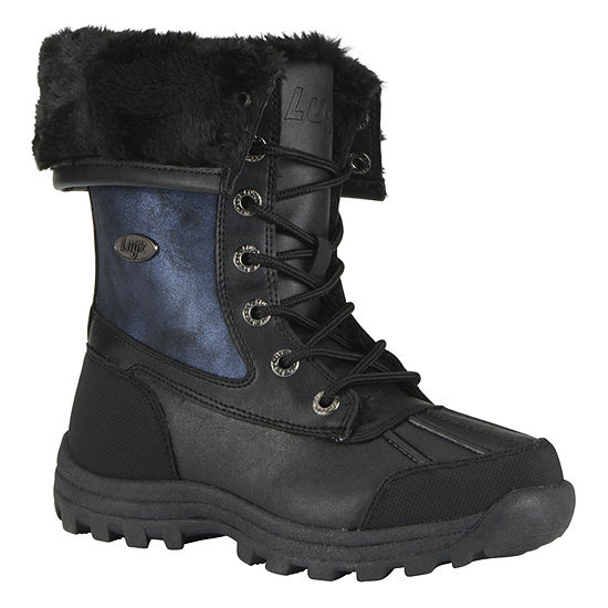 Lugz Womens Tambora Lace Up Water Resistant Winter Boots