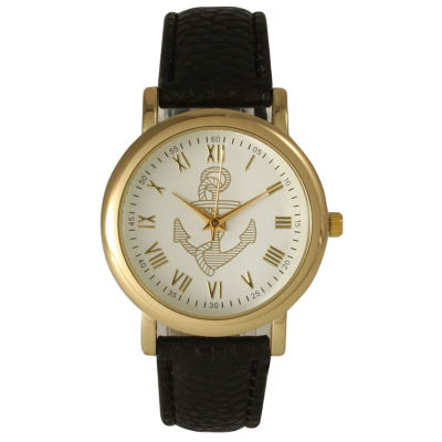Olivia Pratt Womens Black Strap Watch-15322black