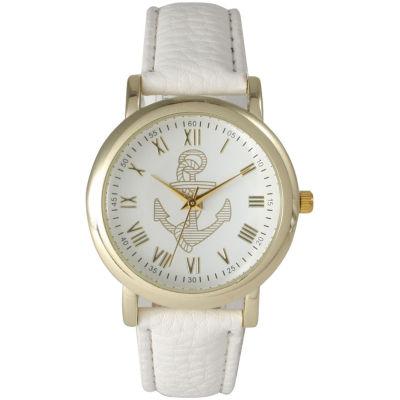 Olivia Pratt Womens White Strap Watch-15322white