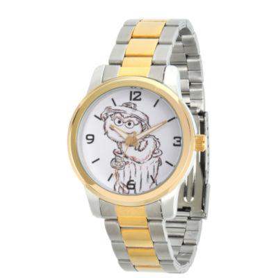 Sesame Street Unisex Two Tone Bracelet Watch-Wss000023