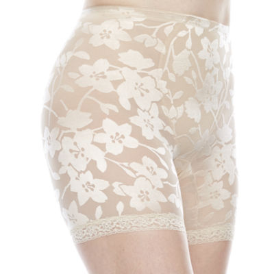 Cortland Intimates Lace Moderate Control Thigh Slimmers - 5067