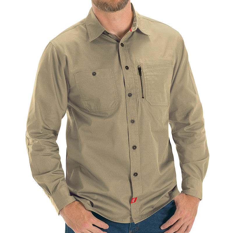 image of RED KAP Woven Work Shirt With MIMIX Technology-ppr5007177749
