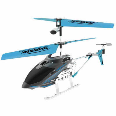 Webrc Iron Eagle Helicopter - Blue