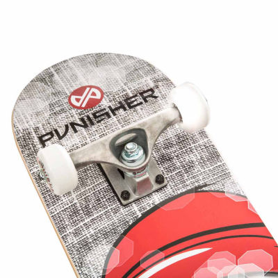 "Punisher Skateboards Twiggy 31.5"" ABEC-7 Complete Skateboard"