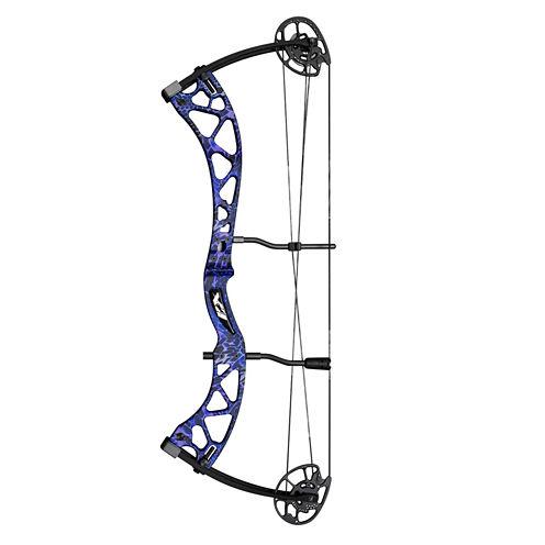 Martin Carbon Mist Compound Bow Rt Hand Package-40lb-Purple