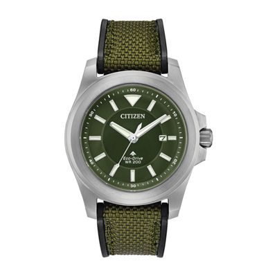 Citizen Mens Two Tone Strap Watch-Bn0211-09x