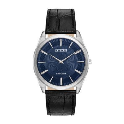 Citizen Mens Black Strap Watch-Ar3070-04l
