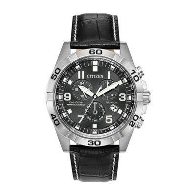 Citizen Mens Black Strap Watch-Bl5551-14h