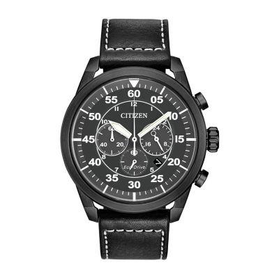 Citizen Mens Black Strap Watch-Ca4215-21h